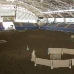 The stage is set for W.E. 2011 150x150 THE WORKING EQUITATION AUSTRALIA SHOW    (Founder of Working Equitation in Australia)